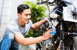 perbaikan sepeda motor