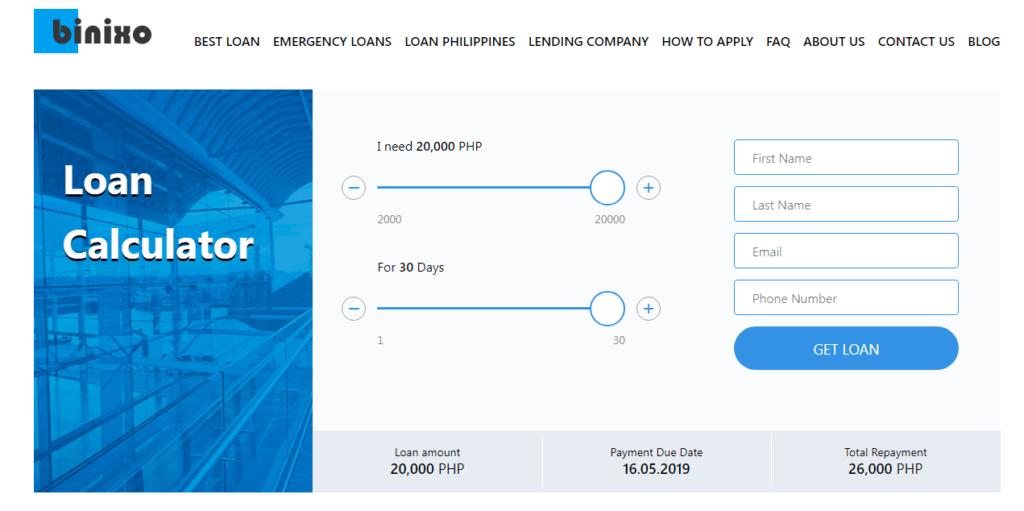 Binixo Loan — Personal Loan Philippines